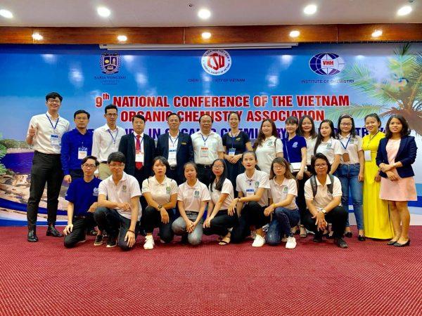 40 24 bvu tham gia hoi nghi khoa hoc hoa huu co toan quoc  hoi thao hoa 1 BVU tham gia Hội nghị khoa học Hóa hữu cơ toàn quốc