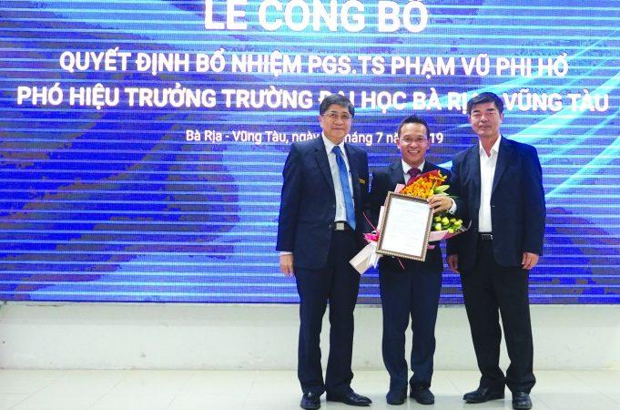bvu hieu pho2 1 BVU bổ nhiệm thêm Phó Hiệu trưởng   để đẩy mạnh hợp tác quốc tế