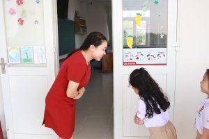 ischool chao dau gio Thầy Trò iSchool Ninh Thuận thực hiện Chào Đầu Giờ