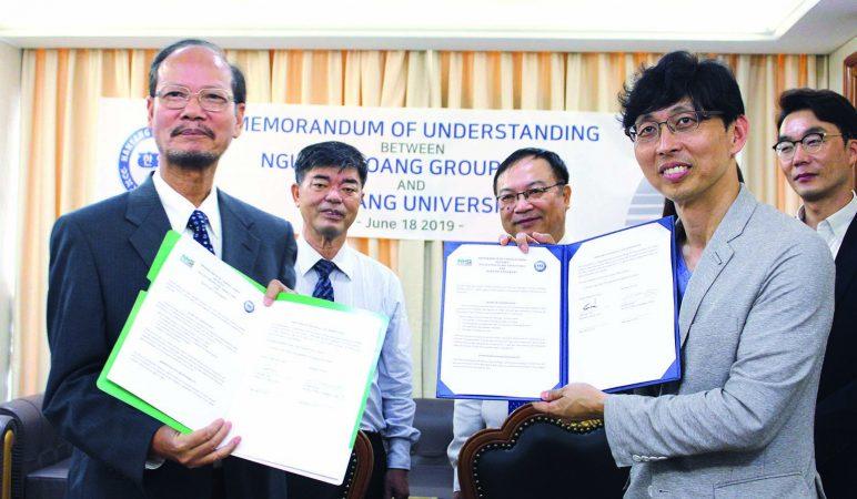 nhg han yang 1 NHG và Đại học Hanyang hợp tác đào tạo e-learning