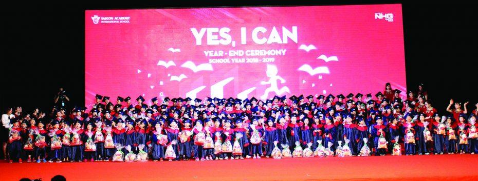 """sga tot nghiep Những """"điểm vàng"""" khi học nội trú tại IEC Quảng Ngãi"""