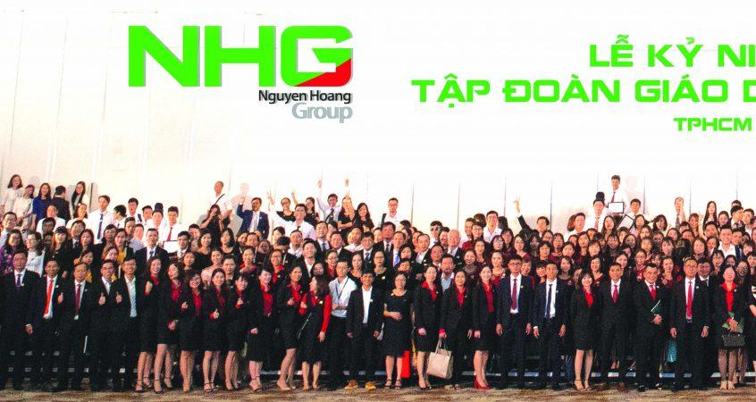 sinh nhat3 1 Tập đoàn giáo dục Nguyễn Hoàng và hành trình 20 năm lan tỏa tri thức