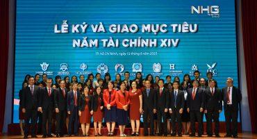 thumb ky ket Nhìn lại Lễ ký giao mục tiêu của Tập đoàn giáo dục Nguyễn Hoàng