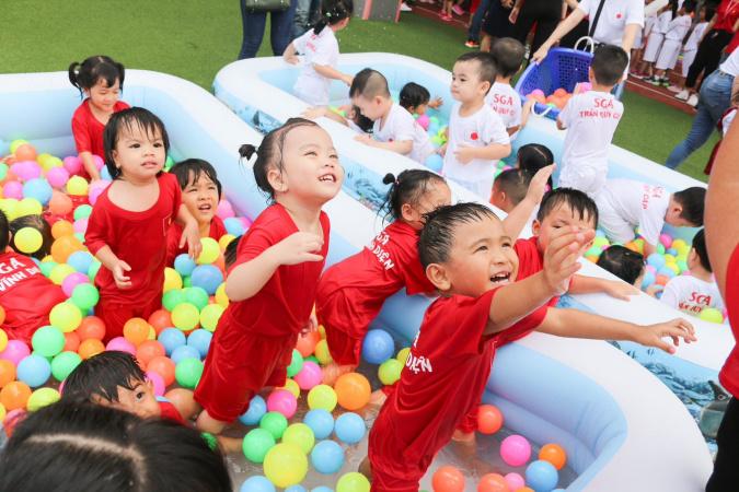 thumbnail 8 Hội thao SGA đa quốc gia tại trường mầm non Quốc tế Saigon Academy