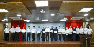 RS1 NHG and Vietnam Catholic Education committee award more than 100 hope scholarships