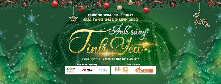 Cover Facebook new NHG tổ chức chương trình nghệ thuật Quà Tặng Giáng Sinh 2020