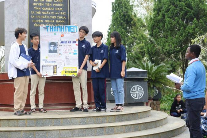 Giao duc lich su tai IEC Quang Ngai 4 Giáo dục lịch sử dân tộc tại môi trường quốc tế IEC Quảng Ngãi