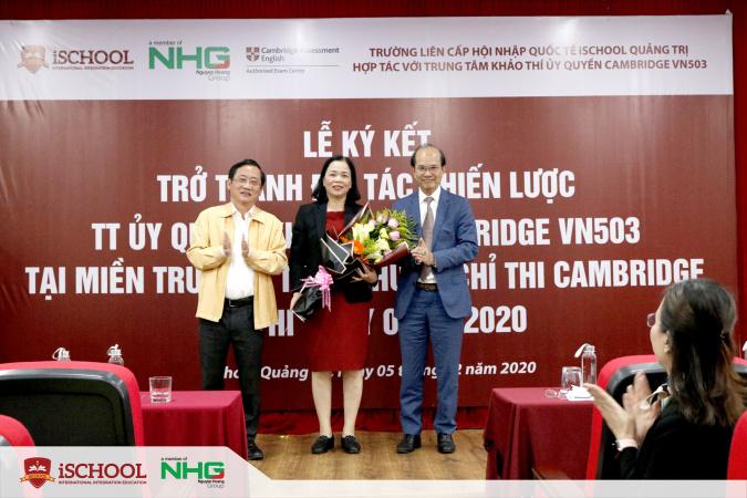 iSchool 5 Quang Tri hop tac voi Cambridge