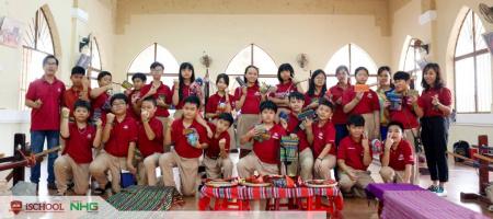 iSchool Ninh Thuan trai nghiem ve que huong