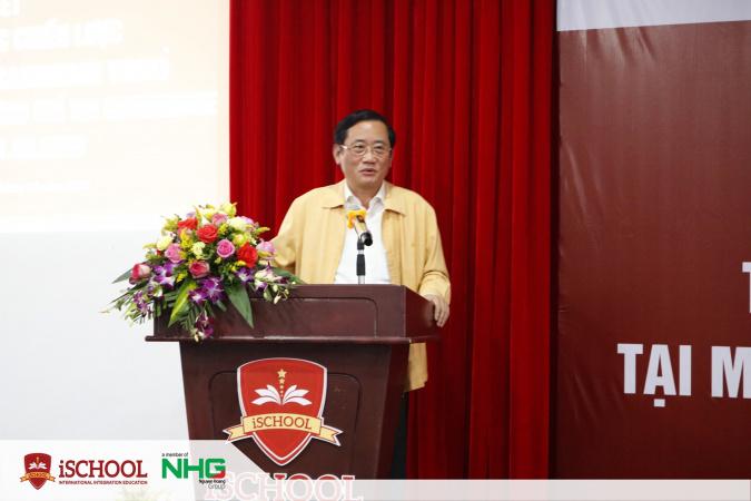 2. Ông Hồ Đại Nam - Ủy viên Ban Thường vụ Tỉnh ủy, Trưởng ban Tuyên giáo Tỉnh ủy tỉnh Quảng Trị phát biểu tại buổi lễ