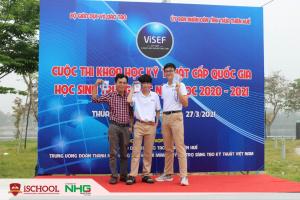 Học sinh iSchool Nha Trang đạt giải Tư tại Cuộc thi Khoa học kỹ thuật cấp Quốc Gia