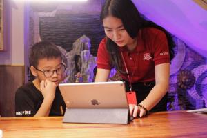 18 11  MG 0391 min min 11zon Đội Chăm sóc đặc biệt chuyên phản ứng nhanhtại iSchool Ninh Thuận