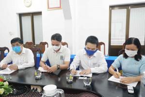 2 11zon BVU tăng cường hợp tác cùng Công ty Dongjin Global