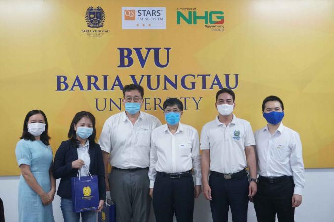 4 11zon BVU tăng cường hợp tác cùng Công ty Dongjin Global