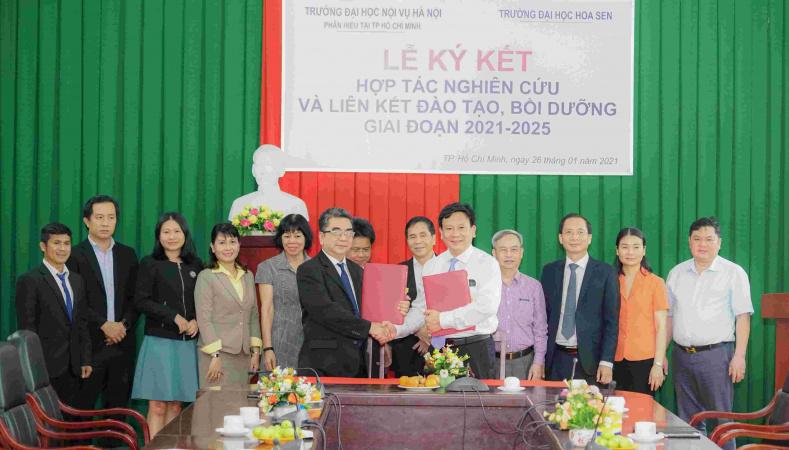 64 35 1.HSU phan hieu truong DH Noi vu Ha Noi 1 11zon HSU bắt tay với nhiều đối tác mới