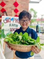 """72 39 vuon rau xanh pic 4 11zon Mô hình """"Vườn rau xanh"""" nhiều ý nghĩa của IEC Quảng Ngãi"""
