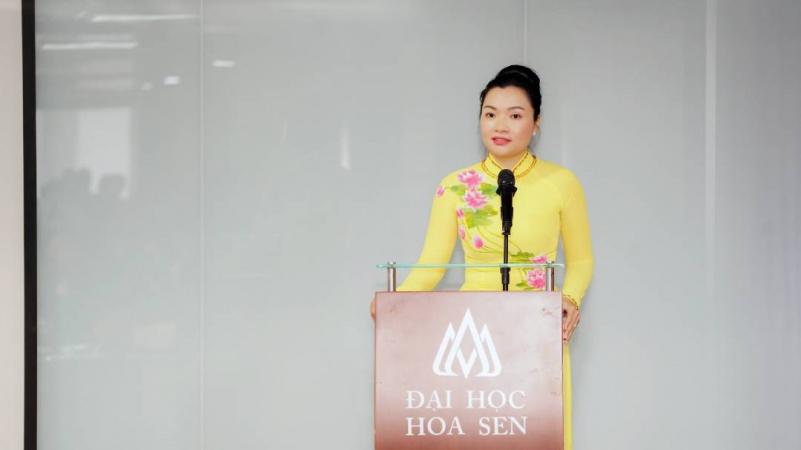 HSU kien toan bo may lanh dao 3 Đại Học Hoa Sen (HSU) kiện toàn đội ngũ quản lý