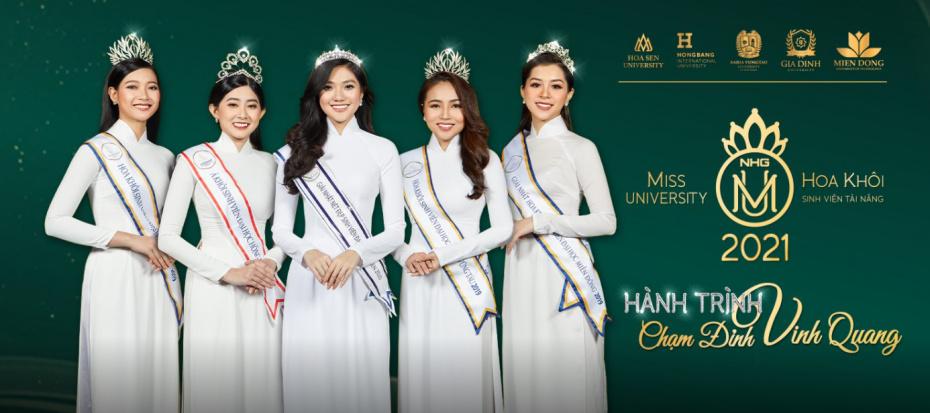 cover Khởi động cuộc thi hoa khôi sinh viên tài năng 2021 - Miss University