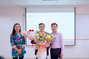 pgs ts le khac cuong hiu 1 PGS.TS Lê Khắc Cường được bổ nhiệm làm Phó Hiệu trưởng Trường Đại học Quốc tế Hồng Bàng