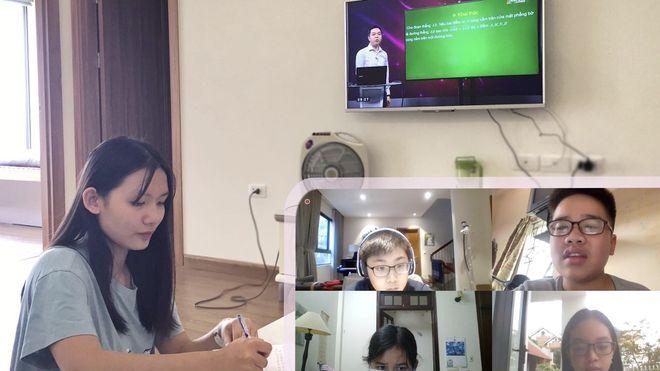 Bộ GD-ĐT chính thức ban hành Thông tư quy định về dạy học trực tuyến trong cơ sở giáo dục phổ thông ẢNH M.C