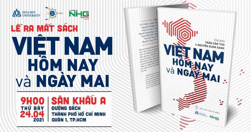 """viber image 2021 04 12 11 25 58 Giới thiệu sách """"Việt Nam Hôm Nay và Ngày Mai"""" từ Ban Tu Thư Đại học Hoa Sen"""