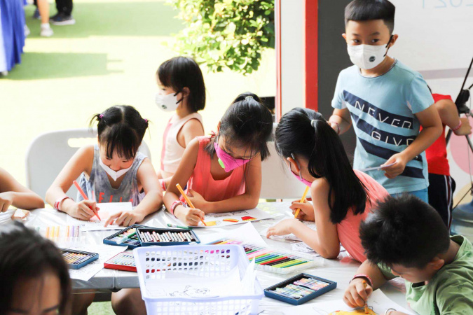 Triển lãm Mê Cung Văn Hóa các quốc gia của học sinh CAS