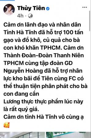 Ca sĩ Thuỷ Tiên