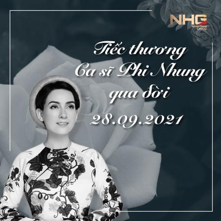 phi nhung 1 NHG tiếc thương ca sĩ Phi Nhung qua đời