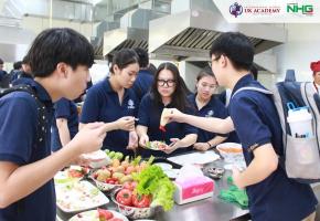 1617 Buổi học JA Trung học tại Phòng thực hành Bếp của Dại học Bà Rịa Vũng Tàu. Vì sao môi trường học tập sáng tạo của UKA Bà Rịa cuốn hút học sinh?